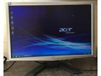 "22"" inch Acer x223W Widescreen EPEAT Flat Panel LCD TFT Screen Monitor VGA PC / Apple Mac"