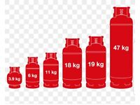 Empty gas bottles needed, any size above 11kg will collect