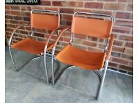RETRO LEATHER CHAIRS