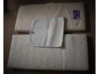 Snuzpod mattresses and mattress protector