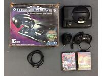 Mega Drive with box etc Fifa, micro machines