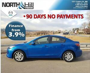 2012 Mazda3 GS Sky-Active! LOW LOW KMS !!! 90 Day No Payments!