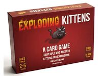 Exploding Kittens Game - Squizzas!