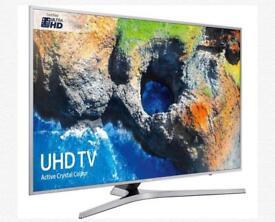 "65"" SAMSUNG Smart 4K Ultra HD HDR LED TV UE65MU6400U in the box"