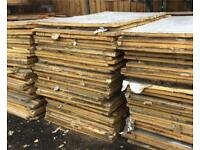 Reclaimed insulation boards 33mm 5ftx3ft £10 each