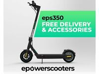 PREMIUM ELECTRIC SCOOTER - EPOWERSCOOTERS - EPS350 - £495 + FREE ACCESSORIES WORTH £55 - SEGWAY G30