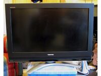 "TOSHIBA REGZA 32C3030DB Flat Screen TV 32"" HD Ready +FREEVIEW £55.00"