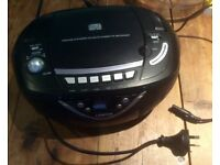 LENOXX SOUND STEREO COMPACT DISC PLAYER AM FM AND CASSETTE RECORDER