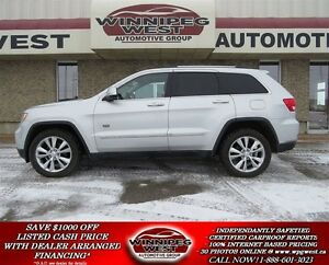 2011 Jeep Grand Cherokee 70th ANNIVERSARY EDITION, LEATHER, SUNR