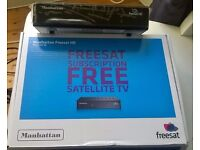 Manhattan Plaza Freesat HD-S2 new condition £30