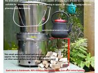 extra large gassifier camping/ outdoor stove