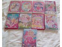 Barbie DVD x 9
