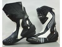 New RKSports LV15 Motorcycle Motorbike Race Boots