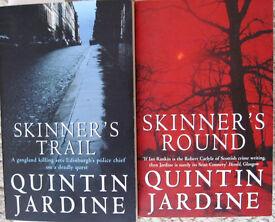 Quintin Jardine (Bob Skinner) paperback books.