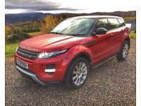 2013 Range Rover Evoque, 33k miles, FSH