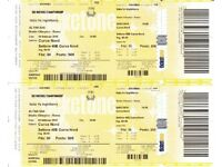 Italy v England 6 Nations Rugby tickets x2 Sunday 4th February 2018