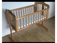 Nearly New Mothercare Crib