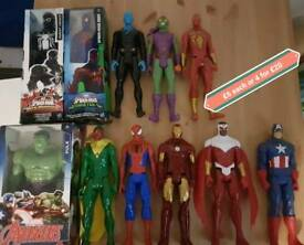 Marvel Hero Figures Spiderman Avengers Hulk