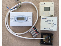 Central Heating/hot water programmable controller, + wireless thermostat & receiver (Drayton)