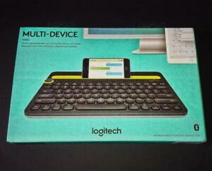 Logitech K480 Bluetooth Wireless Keyboard English Black – New