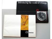 1969 Omega watch catague with price lists.