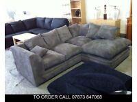 basc Desmond Jumbo Cord Corner Sofa or 3 and 2 Set bsd
