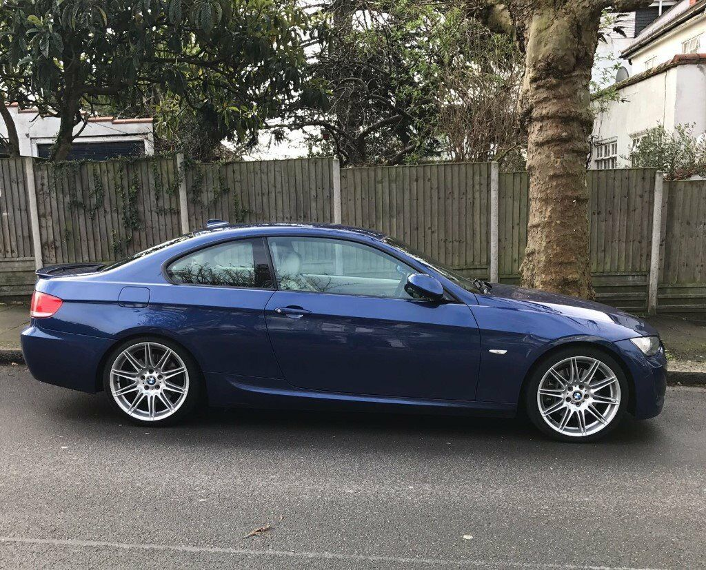 Bmw 335i m sport coupe 2007 3 series blue colour london - Bmw 3 series m sport coupe ...