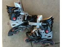 In line Roller Blades size 1-4 £7.50
