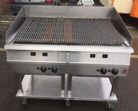 FALCON DOMINATOR RADIANT CHAR GRILL 4 BURNER 1.2m NATURAL GAS
