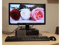 Dell Optiplex 3020 PC i3 4th Gen 3.60GHz | 8GB RAM | 500GB HDD or 120GB SSD with Monitor, KB & MS