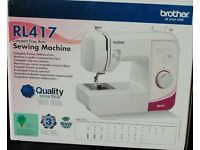Brother RL417 sewing machine brand new in box not opened