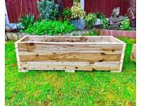 Large Garden rectangular Planter