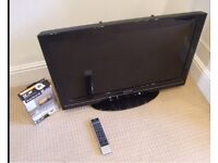 """Toshiba 32BV701B 32"""" 1080p HD LCD Television and remote - £45 - pick up only"""