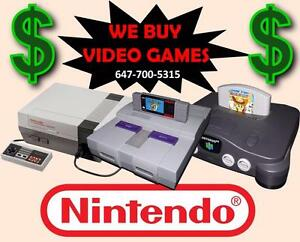 Wanted: BUYING ALL OLD VIDEO GAMES