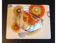 Clarice Cliff CONICAL Cup & Saucer - Rhodanthe/Tresco - c1934/35 Art Deco