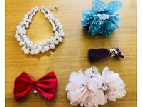 Hairclips, Necklace, Barrette