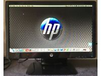 20 inch LED Widescreen HP 2011x 19 LCD TFT Flat screen Monitor with DVI VGA