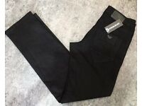 Brand New Mens A Black Jeans £20 Each 28 To 40 Waist