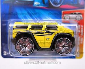 - ~ HOT WHEELS 'Hummer H2 (2004 First Editions/Blings)' ~ -