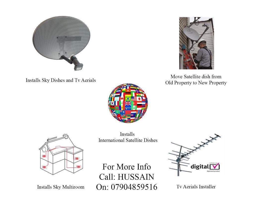 Excellent Satellite Tv Aerial Installation Service Manchester In Old Wiring Digital Resources Hutpapmognl