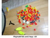 playmobil accessories £4 motors £3 each collection from didcot from a smoke and pet free home