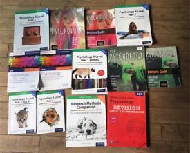 PSYCHOLOGY A LEVEL TEXTBOOKS