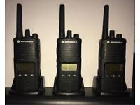Motarola xt460 professional 2-way radio / walkie talkies