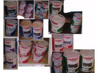 Job lot of new paint. 5l 2.5l 1l gloss emulsion etc swindon