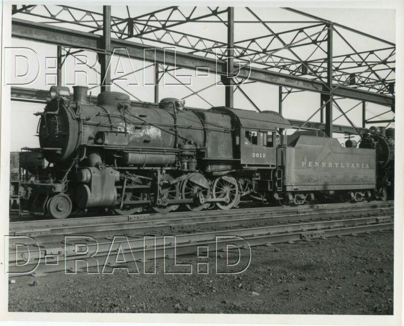 9CC022  RP 1940s/50s PENNSYLVANIA RAILROAD 2-8-0  LOCO #3012