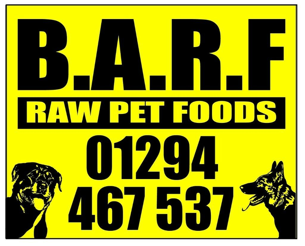Raw pet food (B.A.R.F.)