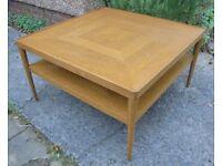Oak Coffee Table, Retro Look Ikea Stockholm