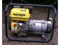 Wolf Petrol generator 2200w ---