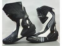 New RKSports LV15 Motorcycle Motorbike Race Boots