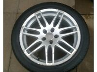 audi rs4 style alloy wheel 17 inch 5x112 ET35